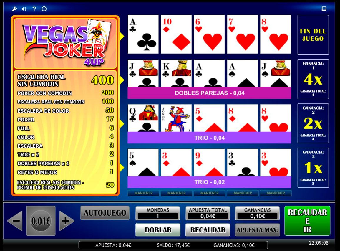 Reglas de Juego Vegas 167138