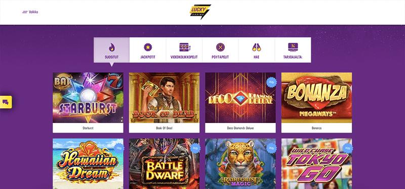 Lucky casino Videotragamonedass consejos