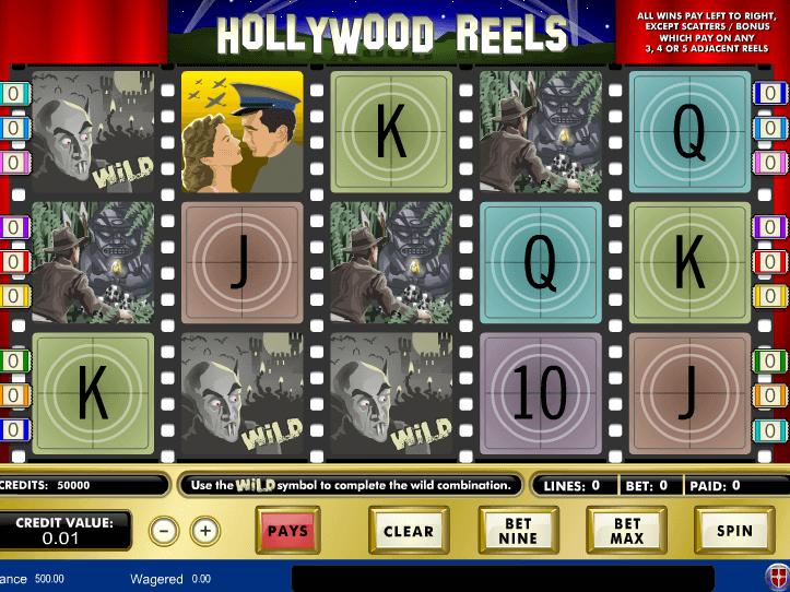Algoritmo ruleta Hollywood Reels rusa
