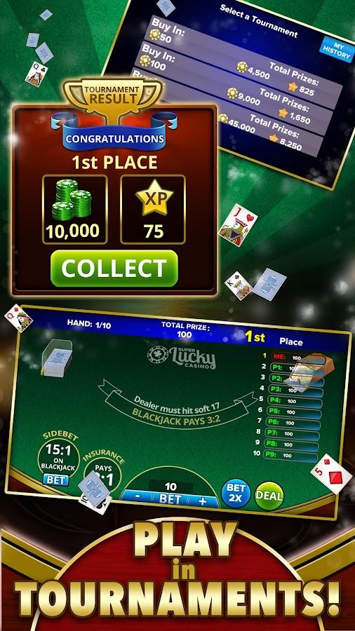 Torneos de Blackjack juegos 257929
